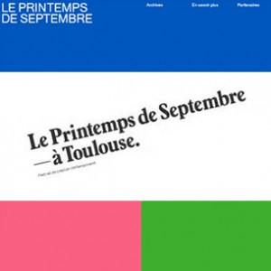 Festival Printemps de Septembre
