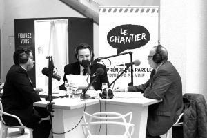 Emission radio en direct et en public par l'Onde Porteuse